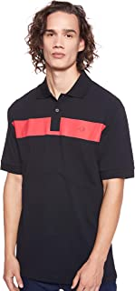 Fred Perry Mens Printed chest Panel Pique Polo