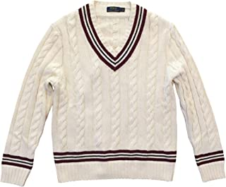 Men's Iconic Cricket Sweater Cream