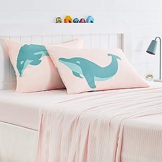 Amazon Basics Kids Jumping Dolphins Soft, Easy-Wash...