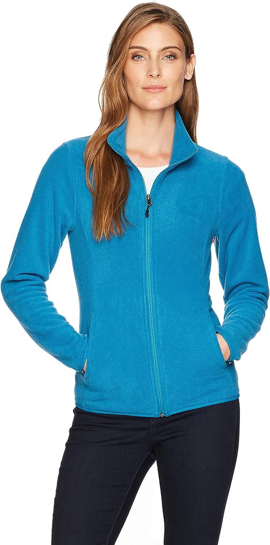 Essentials Womens Full-Zip Polar Fleece Jacket