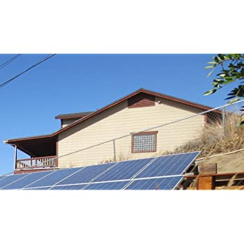 Plugged Solar 5KW Grid-tie Kit. Ground Mounting for Solar Panel. High Rating Micro-Inverters