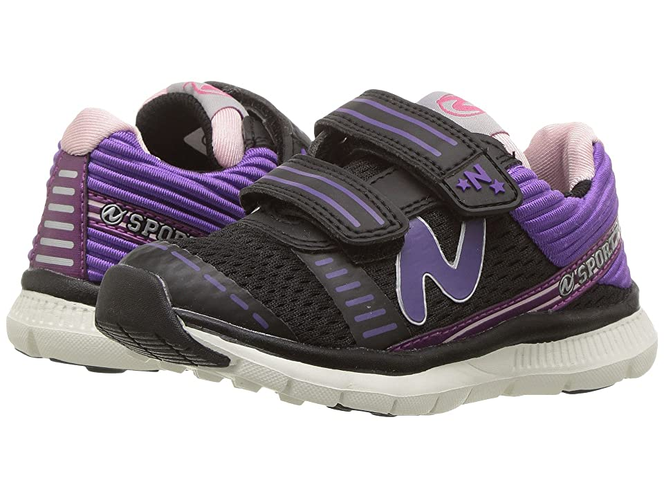 Naturino Sport 553 AW17 (Toddler/Little Kid/Big Kid) (Black) Girl