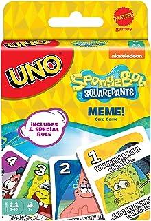 Mattel Games UNO: Spongebob Squarepants Meme [Amazon Exclusive], Multi