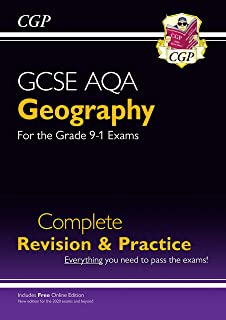 GCSE 9-1 Geography AQA Complete Revision & Practice (w/ Online Ed)