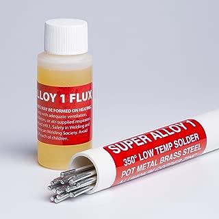 Super Alloy 1 Soldering Rod & Flux Kit (Full Kit 3/32