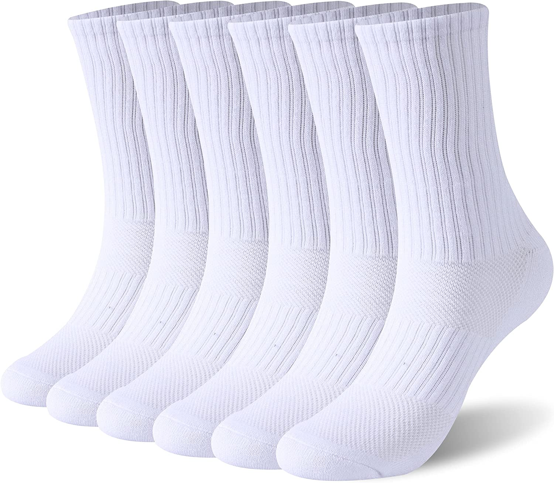 New arrival Bamboo Socks SPST Women's Crew Soft Atlanta Mall Moisture Breathable Wicking