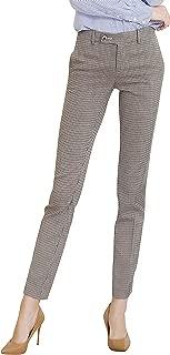 Women's Work Dress Pants Straight Leg Bootcut Trousers