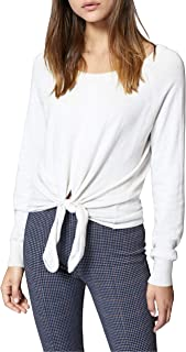 Sanctuary Laguna Tie Front Top, Size X-Small - Ivory