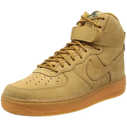 reputable site 21b5a c4fdb Nike Air Force 1 High  07 LV8 WB Flax Flax-Outdoor Green