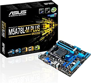 ASUS M5A78L-M Plus/USB3 Socket AM3+ AMD 760G Micro ATX - Placa Base (DDR3-SDRAM, DIMM, 1066,1333,1600,1800,1866,2000 MHz, Dual, 32 GB, AMD)