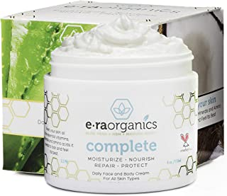 Natural & Organic Face Moisturizer Cream – Advanced 10-In-1 Non Greasy Daily..