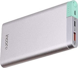 incore inPower 10000 PD QC 3.0 Gümüş Taşınabilir Şarj Cihazı Powerbank Power Delivery ve Quick Charge 3.0 iPhone 8, 8 Plus, X, XS, XR XS Max Hızlı Şarj