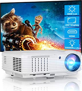 CAIWEI Video Projector LCD LED Multimedia HD Proyector 3900lumens Wxga 1280x800 Native Home Theater Cinema System 1080P HD...