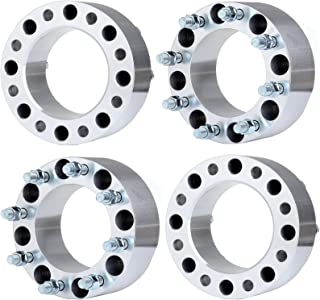 ECCPP Wheel Spacers for Ford, Replacement for 8x170 Wheel Spacers Adapter 4X 3 8 Lug 75mm 8x170 14x1.5 Studs Wheel Spacers for Ford F-350/F-250 Super Duty 04-14