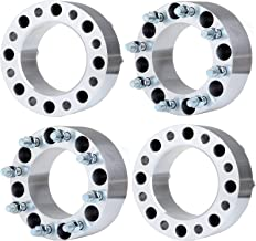ECCPP 8x170 Wheel Spacers Adapter 8 Lug 75mm 8x170 14x1.5 Studs 4X 3 Wheel Spacers for Ford F-350/F-250 Super Duty 04-14