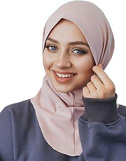 وشاح رأس من القطن، قطعة واحدة من الحجاب الفوري، جاهز لارتداء إكسسوارات الإسلامية للنساء