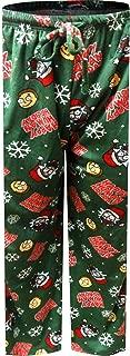 Men's Rick and Morty Christmas Fun Silky Fleece Loungepants