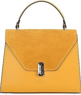 Marco VENEZIA JESS, Modische Damen-Leder-Handtasche, Umhängetasche von MarcoVENEZIA, Made in Italy