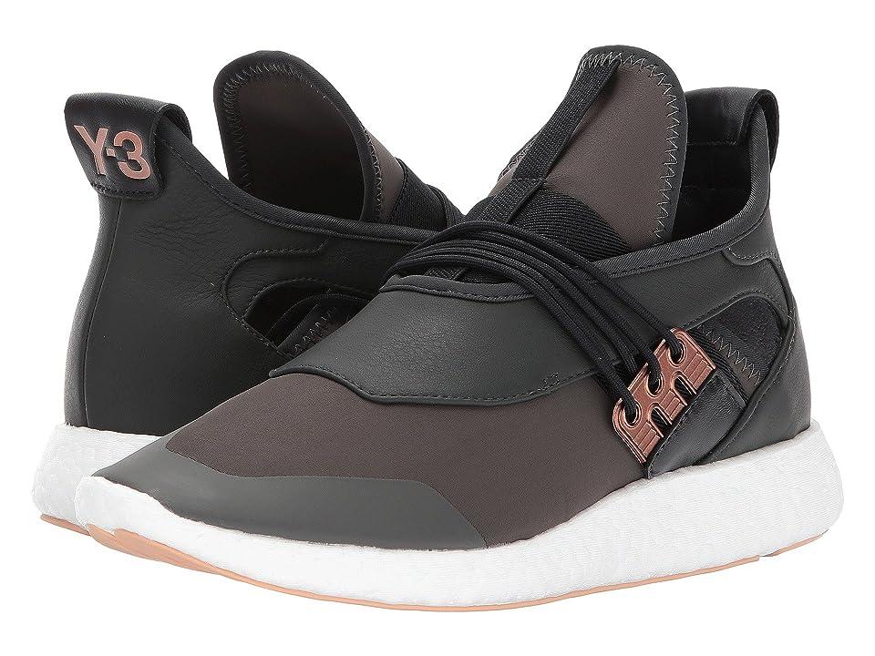 adidas Y-3 by Yohji Yamamoto Elle Run (Black Olive-Y3/Copper Metallic/Core Black) Women