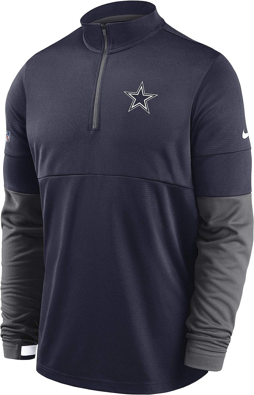 Dallas Cowboys Men's Nike Top Zip Half Therma 新色 永遠の定番モデル