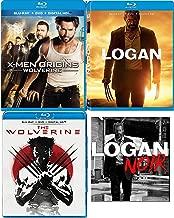 Fierce Fighting Machine Rogue Cut Noir Logan Special Edition 3 Disc Movie Pack Blu-Ray + DVD + DHD Hugh Jackman Wolverine & X-men Origins Marvel Super Hero Triple Feature