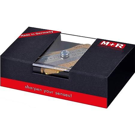 M + R 706141000Mine Temperino doppio in ottone regalo Confezione