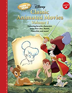 Learn to Draw Disney Classic Animated Movies Vol. 1: Featuring Favorite Characters from Alice in Wonderland, the Jungle Bo...