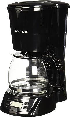 Taurus CAFFETO Cafetera Programable, Autoapagado, 6 Tazas