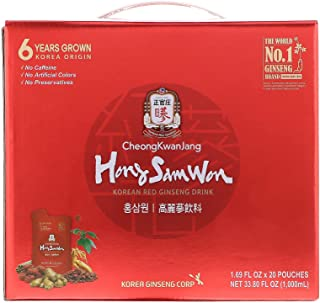 KGC Cheong Kwan Jang [Korean Red Ginseng Concentrated Extract 120g] 100% 6-Year-Old Premium Korean Ginseng Roots, Immune System Booster, Energy Stamina, Antioxidants Healthy Memory, Blood Circulation