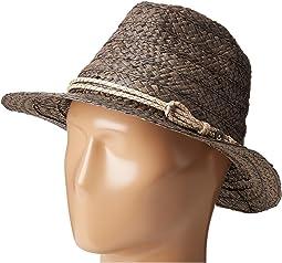 """RHF6121 2"""" Brim Raffia Fedora Hat"""
