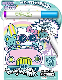 Bendon Hello Kitty 24-Page Imagine Ink with Mess Free Marker 49146