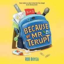 Because of Mr. Terupt: Mr. Terupt, Book 1