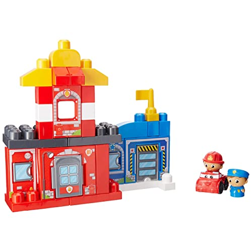 Mega Bloks First Builders Rescue Squad Building Set