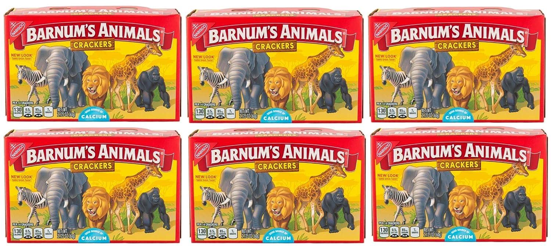 Max 62% OFF Barnum Animal Crackers 2.125 6 pk oz Seattle Mall