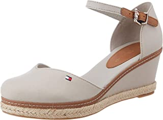 Tommy Hilfiger Basic Closed Toe Mid Wedge, Sandales Bout ouvert Femme