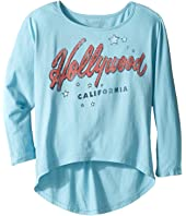 The Original Retro Brand Kids - Hollywood 3/4 Dolman Tee (Big Kids)