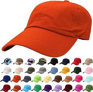 99299f7a15466 Falari Classic Baseball Cap Dad Hat 100% Cotton Soft Adjustable Size