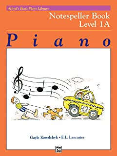 Alfred´S Basic Piano Library Notespeller Book 1a