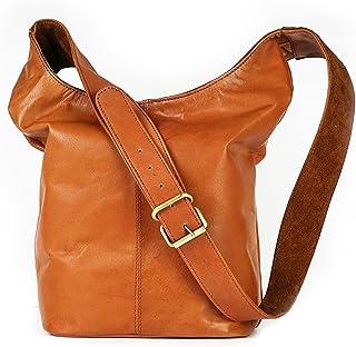 VINTAGE9 Leather Tote Bag - Suvana, Tan