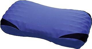西川 [エアー] エアー3D ピロー 61X34X13cm 枕 凹凸形状ウレタンフォーム 3次元立体構造 フィット 通気性 エアー AiR ブルー / 高め EH90135078B