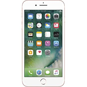 Apple iPhone 7 Plus, 32GB, Rose Gold - For AT&T (Renewed)
