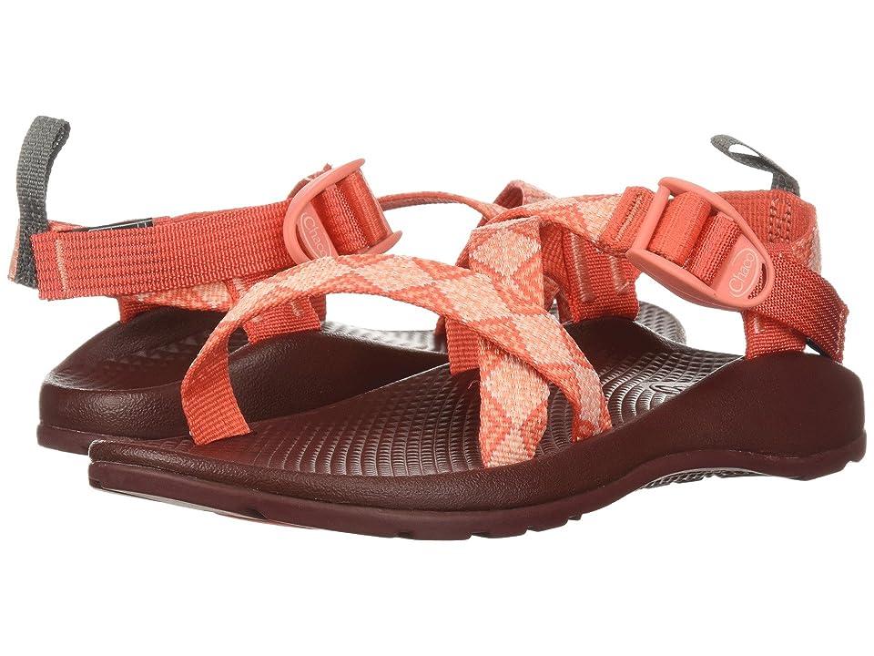 Chaco Kids Z/1 Ecotread (Toddler/Little Kid/Big Kid) (Kaleido Peach) Girls Shoes
