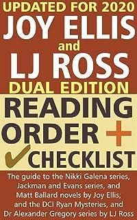 Joy Ellis and LJ Ross Reading Order and Checklist: The guide to the Nikki Galena series, Jackman and Evans, Matt Ballard b...