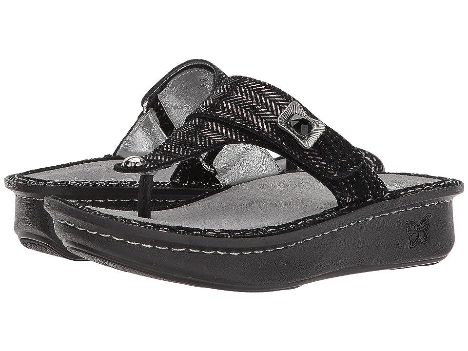 ed88da4da20420 Alegria Carina (Chained Black) Women s Sandals