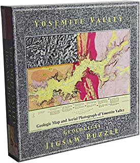 Yosemite Valley Geological Jigsaw Puzzle by winterwater publications