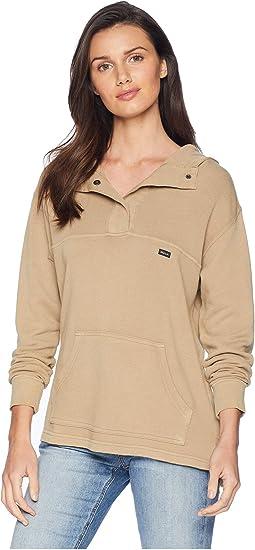 Racked Fleece Sweatshirt