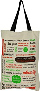 ShalinIndia - Cotton Canvas Multipurpose Shopping Bag