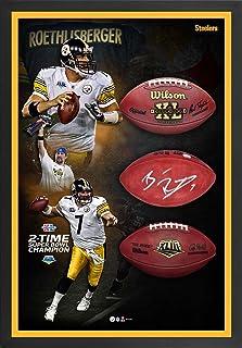 Ben Roethlisberger Pittsburgh Steelers Framed Autographed 27