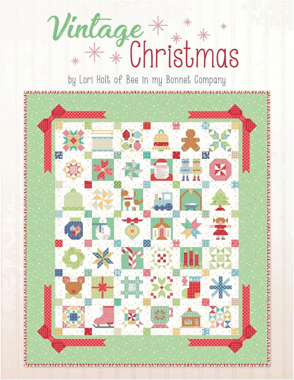 Riley Blake Designs Lori Holt Vintage Christmas Book Multi