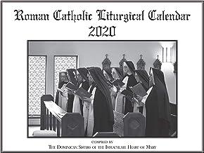 Liturgical Calendar 2020, Roman Catholic